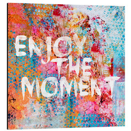Tableau en aluminium  Enjoy the moment II - Andrea Haase
