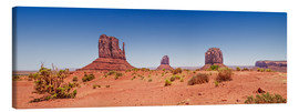 Toile  Monument Valley USA, vue panoramique I - Melanie Viola