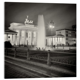 Verre acrylique  Berlin - Brandenburg Gate (Analogue Photography) - Alexander Voss