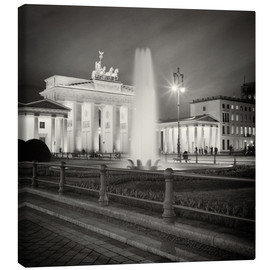 Toile  Berlin - Brandenburg Gate (Analogue Photography) - Alexander Voss