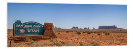 Forex  Monument Valley USA Panorama III - Melanie Viola