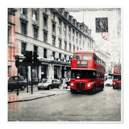 Poster Postcard From London | 03