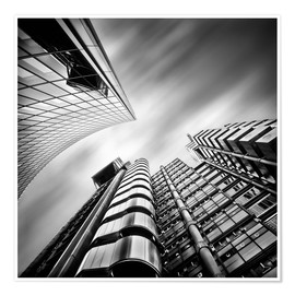Poster Lloyds London | 01 (noir et blanc)