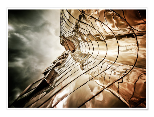 Poster Gehry Duesseldorf | 03 (landscape)