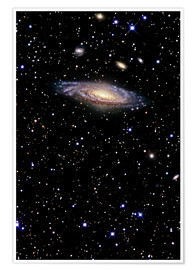 Poster Spiral galaxy in the constellation Pegasus
