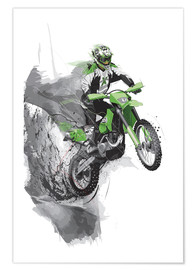 Poster  motocross - tom