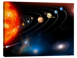 Toile  Our Solar System - Stocktrek Images