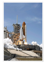Poster Space shuttle Atlantis