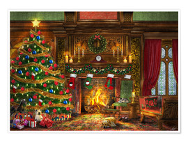 Dominic Davison - Festive Fireplace