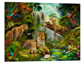 Tableau en PVC  Leopards - Jan Patrik Krasny