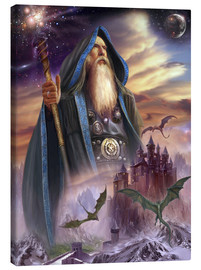 Toile  The high Mage - Dragon Chronicles