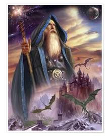 Poster  The high Mage - Dragon Chronicles