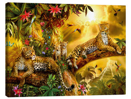 Toile  Jungle Jaguars - Jan Patrik Krasny