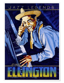 Poster  Duke Ellington - Roger Pearce