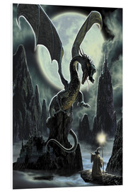 Tableau en PVC  Dragons rock - Dragon Chronicles