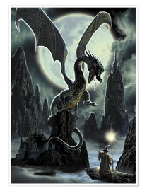 Poster Dragons rock