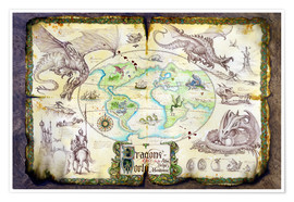 Poster  Dragons of the world - Dragon Chronicles
