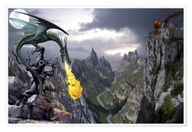 Poster  Dragon valley - Dragon Chronicles