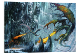 Tableau en PVC  The cave - Dragon Chronicles