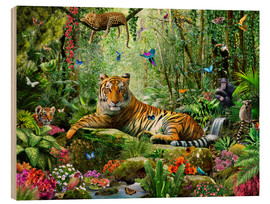 Adrian Chesterman - Tiger in the Jungle