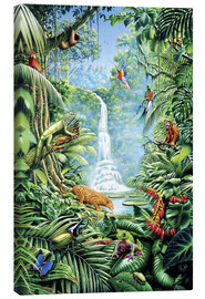 Toile  Save the rainforest - Gareth Williams