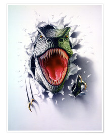 Poster Tyrannosaure