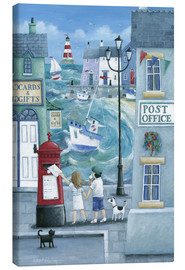 Toile  Harbour Post - Peter Adderley