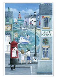 Poster  Harbour Post - Peter Adderley