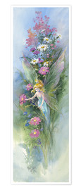 Poster Fairy Flowers