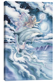 Tableau sur toile  Wish upon a dolphin star - Jody Bergsma