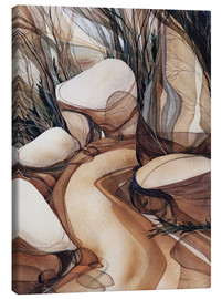 Toile  The road less travelled - Jody Bergsma
