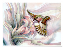 Poster  Spread your wings - Jody Bergsma