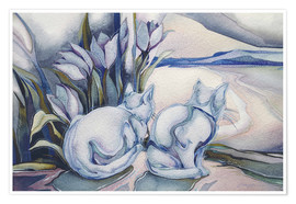 Poster  Miracles come quietly - Jody Bergsma