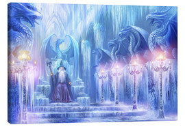 Toile  The ice palace - Dragon Chronicles