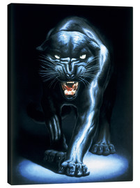 Toile  Black Panther - Adrian Rigby