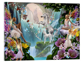 Verre acrylique  Unicorn Waterfall - Garry Walton