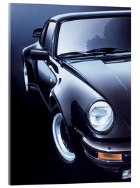 Verre acrylique  Black Porsche turbo - Gavin Macloud