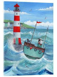 Verre acrylique  Phare - Peter Adderley