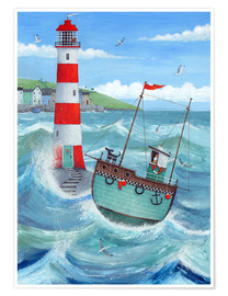 Poster  Phare - Peter Adderley