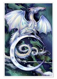 Poster  Touch the moon - Jody Bergsma