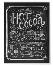 Poster  Hot Cocoa - Lily & Val