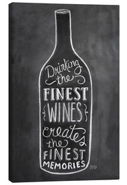 Toile  Finest Wines - Lily & Val