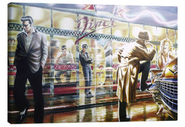 Toile  Diner - Adrian Chesterman