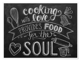 Poster  Cooking With Love - Lily & Val