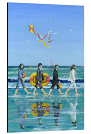 Tableau en aluminium  Plage Abbey Road - Peter Adderley