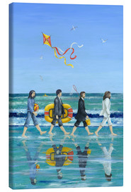 Toile  Plage Abbey Road - Peter Adderley