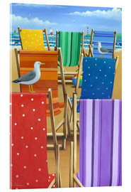 Verre acrylique  Rainbow Deckchairs - Peter Adderley