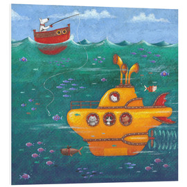 Tableau en PVC  Yellow Submarine - Peter Adderley