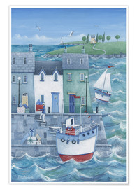 Poster  Harbour Gifts - Peter Adderley