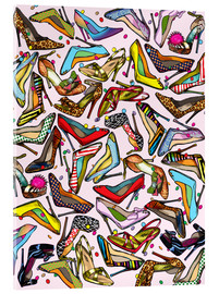 Verre acrylique  Shoe Crazy - Lewis T. Johnson